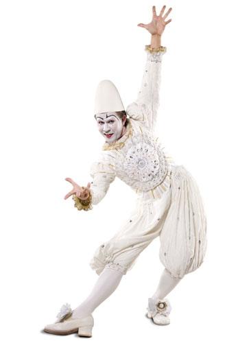 clown blanc