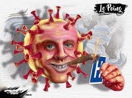 Macron 49.3 Covid 19 : moins de retraités (dessin) - Le Poing
